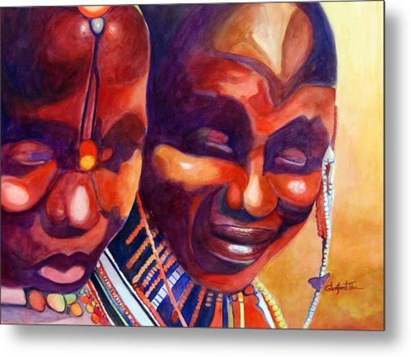 African Queens Metal Print