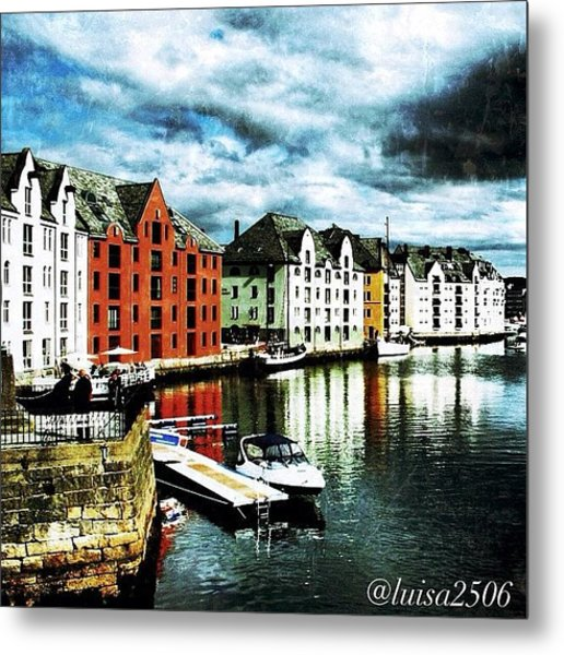 Alesund-norway Metal Print