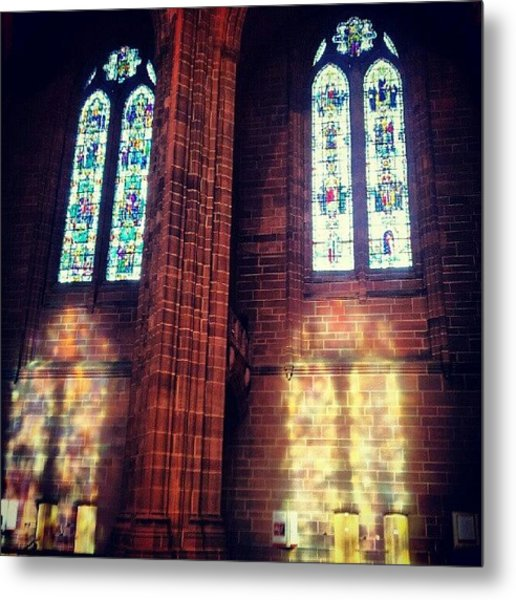 #anglican #cathedral #cathedrals Metal Print