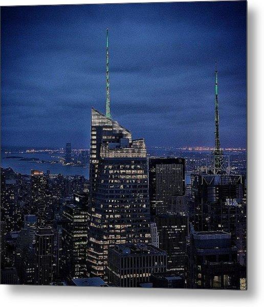 Bank Of America Tower - Ny Metal Print
