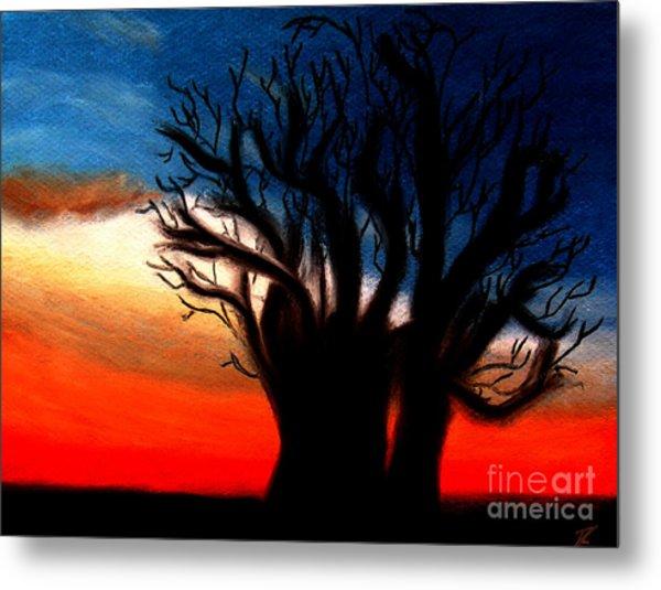 Baobab Tree Metal Print