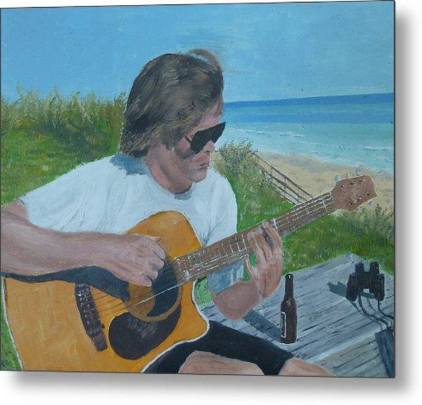 Beach Music Metal Print by John Terry