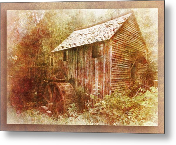 Cade's Grist Mill Metal Print by Barry Jones
