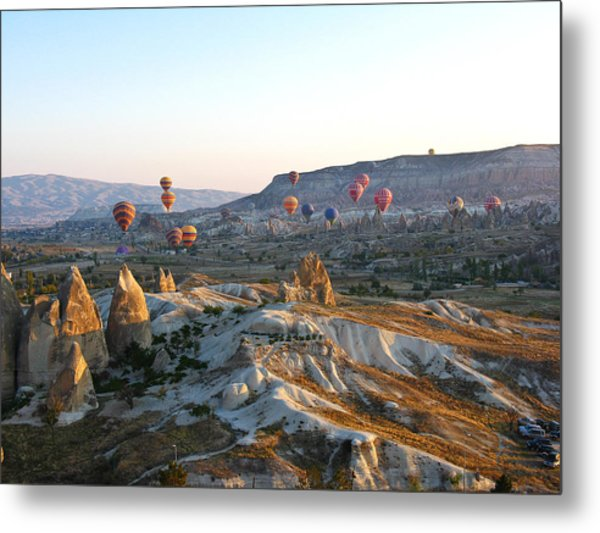 Cappadocia Turkey Metal Print by Ian Stevenson