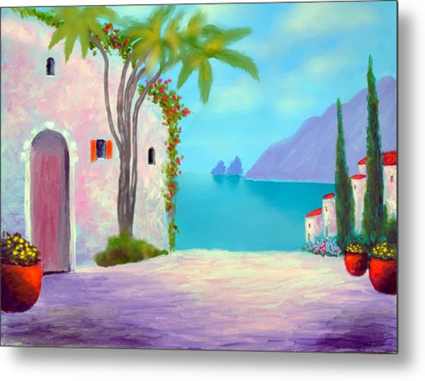 Capri Colors Metal Print