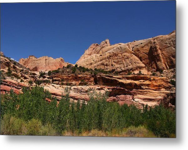 Captial Reef Metal Print by Southern Utah  Photography