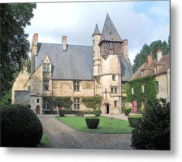 Chateau Villamenant France  Metal Print
