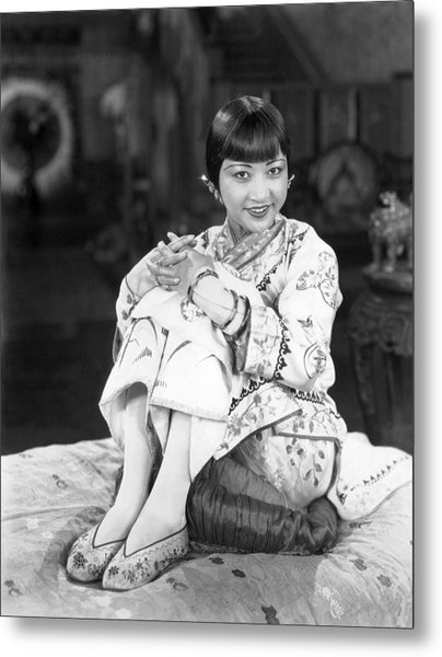 Chinatown Charlie, Anna May Wong, 1928 Metal Print by Everett