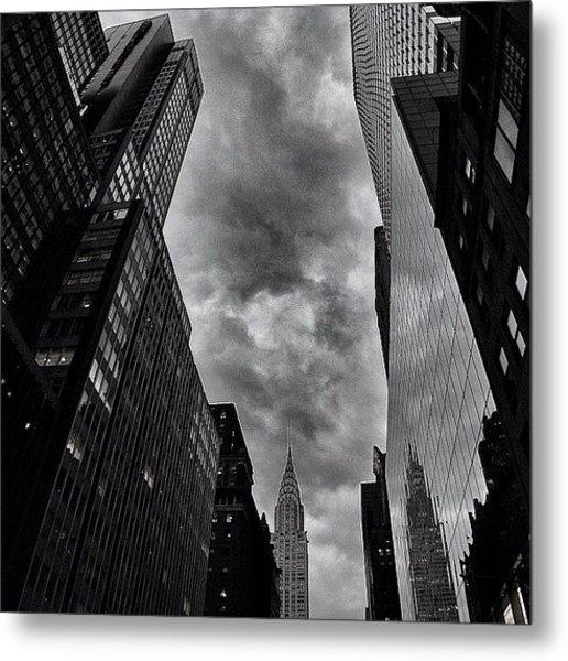 Chrysler Building - New York Metal Print