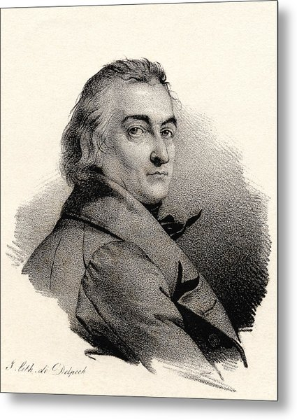 Claude Louis Berthollet, French Chemist Metal Print by