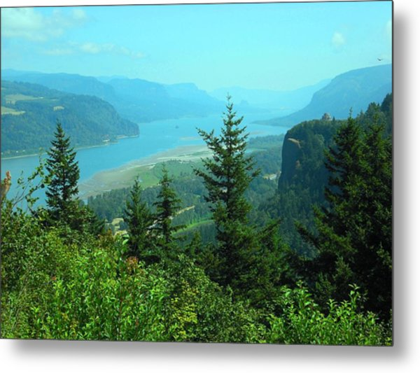 Columbia River Gorge Metal Print