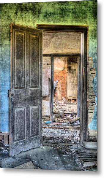 Come On In Metal Print by JC Findley