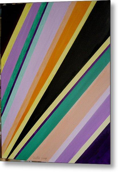 Converging Triangles Metal Print by Harris Gulko
