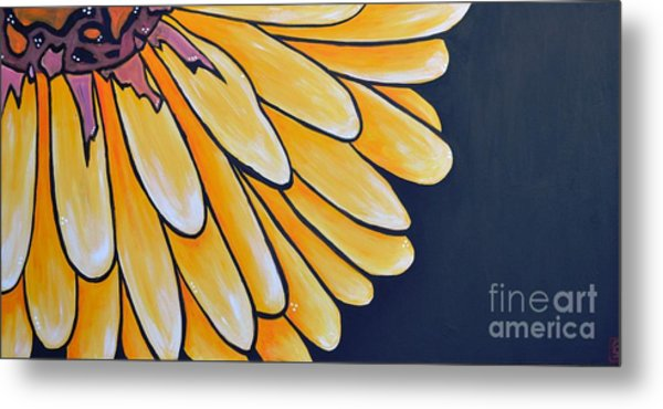 Dahlia Metal Print by Holly Donohoe