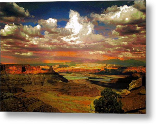 Dead Horse Point Canyon Metal Print