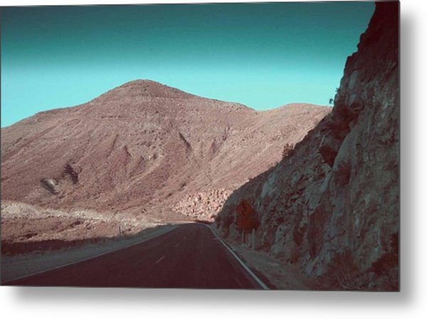 Death Valley Road 2 Metal Print