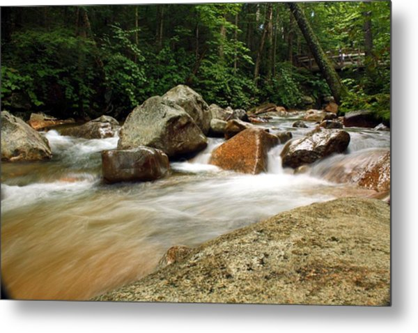 Downstream At The Basin Metal Print by David Gilman