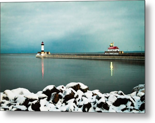 Duluth Harbor Metal Print