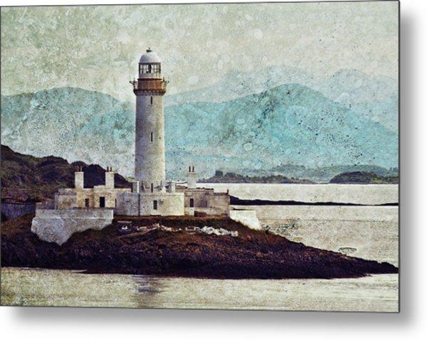 Eilean Musdile Lighthouse  Metal Print