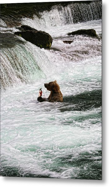 Fishing-5 Metal Print