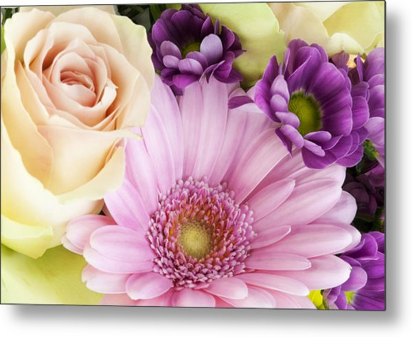 Flowers For The Girlfriend Metal Print