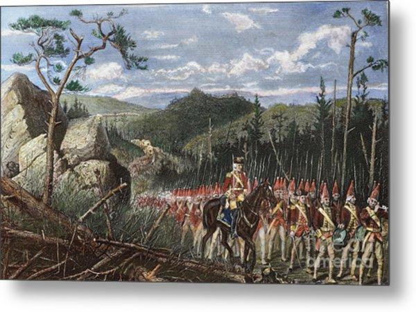General Braddocks March Metal Print