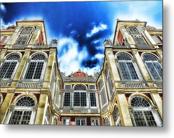 Genova Palazzo Reale - Royal Palace Of Palazzo Dei Rolli Metal Print by Enrico Pelos