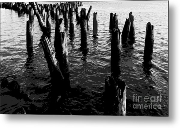 Ghosts On The Hudson Metal Print