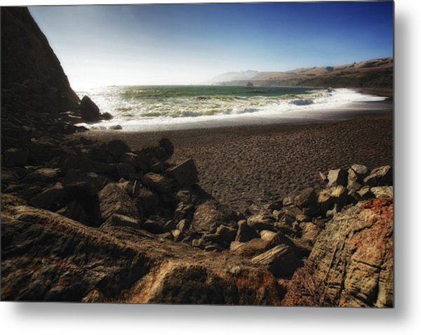 Goat Rock Beach Metal Print