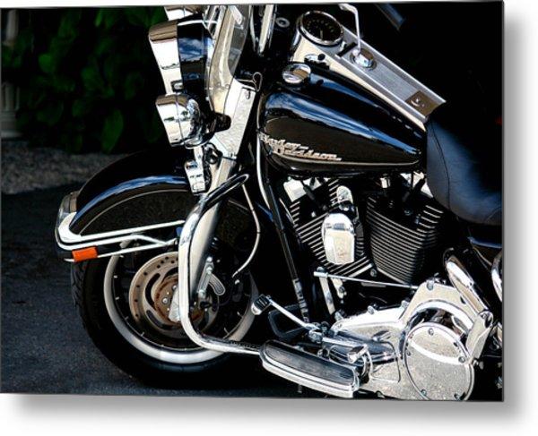 Harley Davidson  Metal Print by Karen Scovill