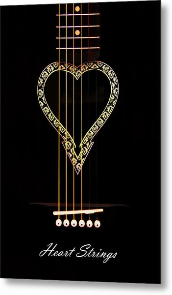 Heart Strings Metal Print