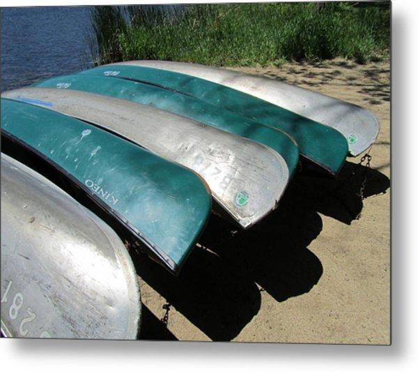 Herrick Boats Metal Print by Todd Sherlock