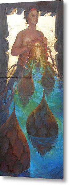 If I Could Have Opened My Heart Metal Print