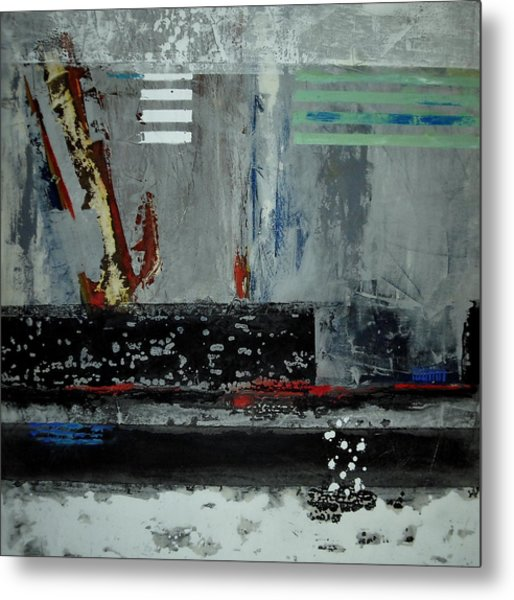 It's Cold Metal Print by Mohamed KHASSIF