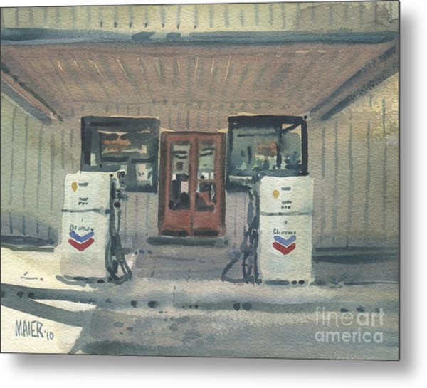 Jimtown Store Metal Print by Donald Maier
