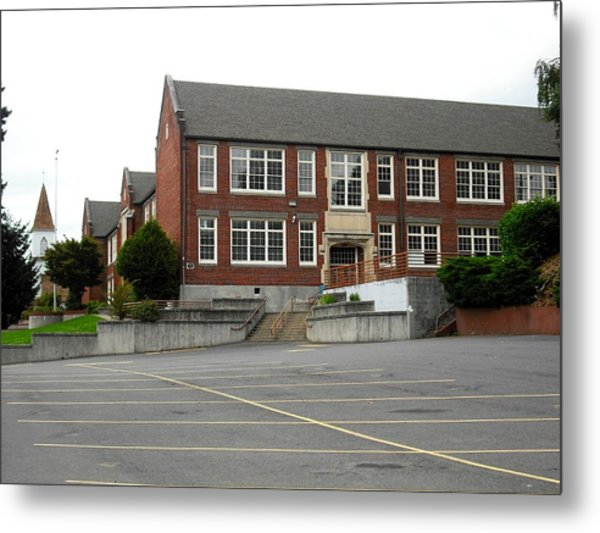 Kalama Aka Forks High School Metal Print