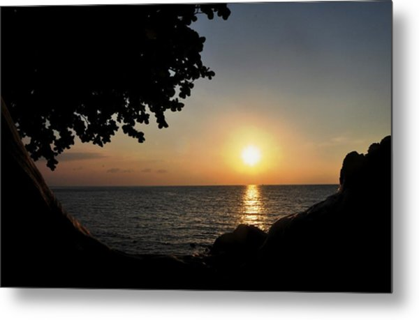 Kona Sunset II Metal Print by Danielle Del Prado