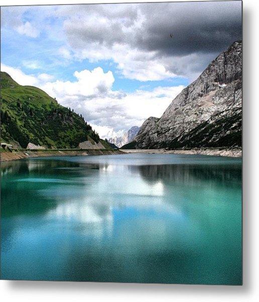 Lago Fedaia Metal Print
