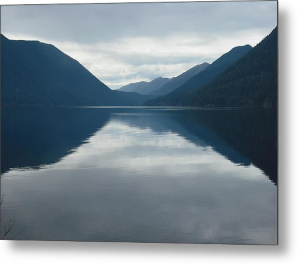 Lake Crescent Metal Print