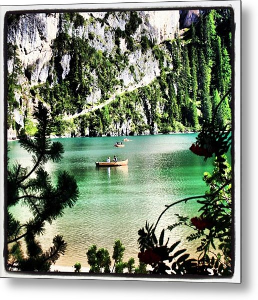 Lake Of Braies - South Tyrol Metal Print