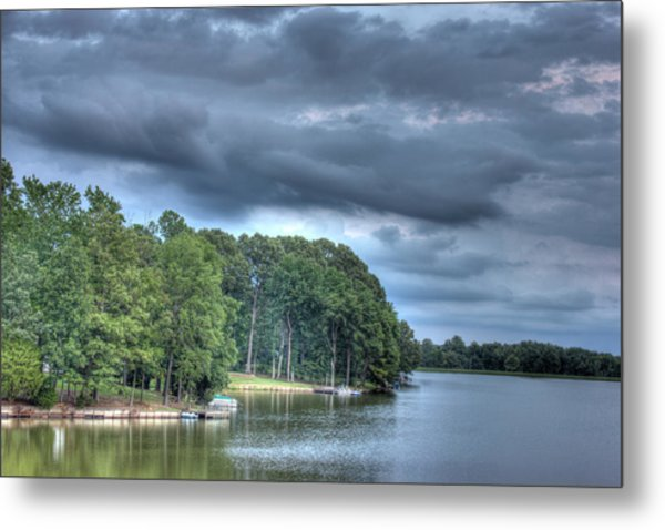 Lakeside Metal Print by Barry Jones