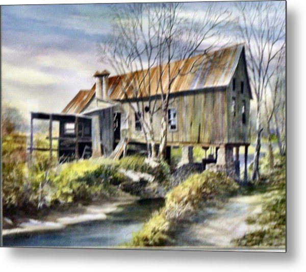 Levy Deas Grist Mill  Sold Metal Print