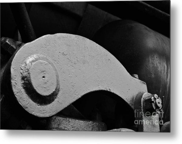 Locomotive Detail Metal Print