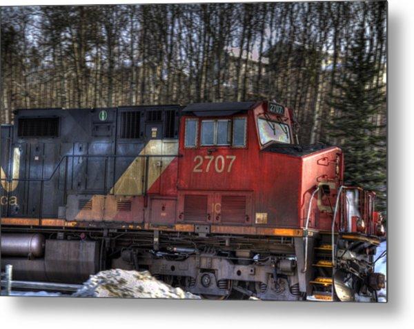 Locomotive Metal Print by Kim French