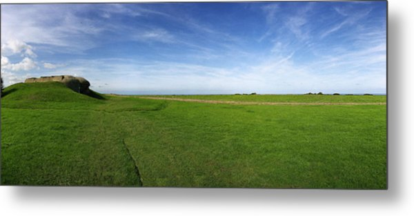 Longues Battery Metal Print