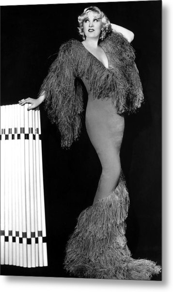 Mae West, Paramount Pictures, Ca. Early Metal Print by Everett