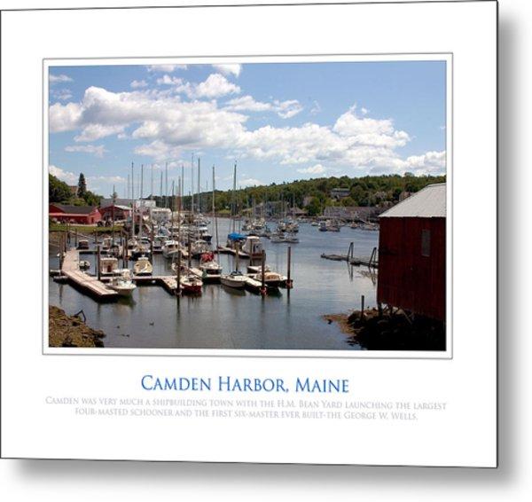 Maine Harbour Metal Print by Jim McDonald Photography