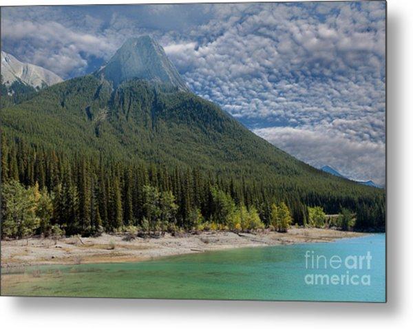 Maligne Lake Jasper Alberta Metal Print