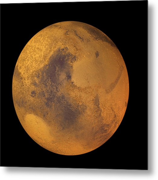Mars Metal Print by Friedrich Saurer