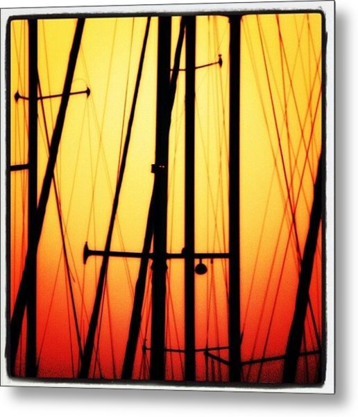 Master Sunset Metal Print